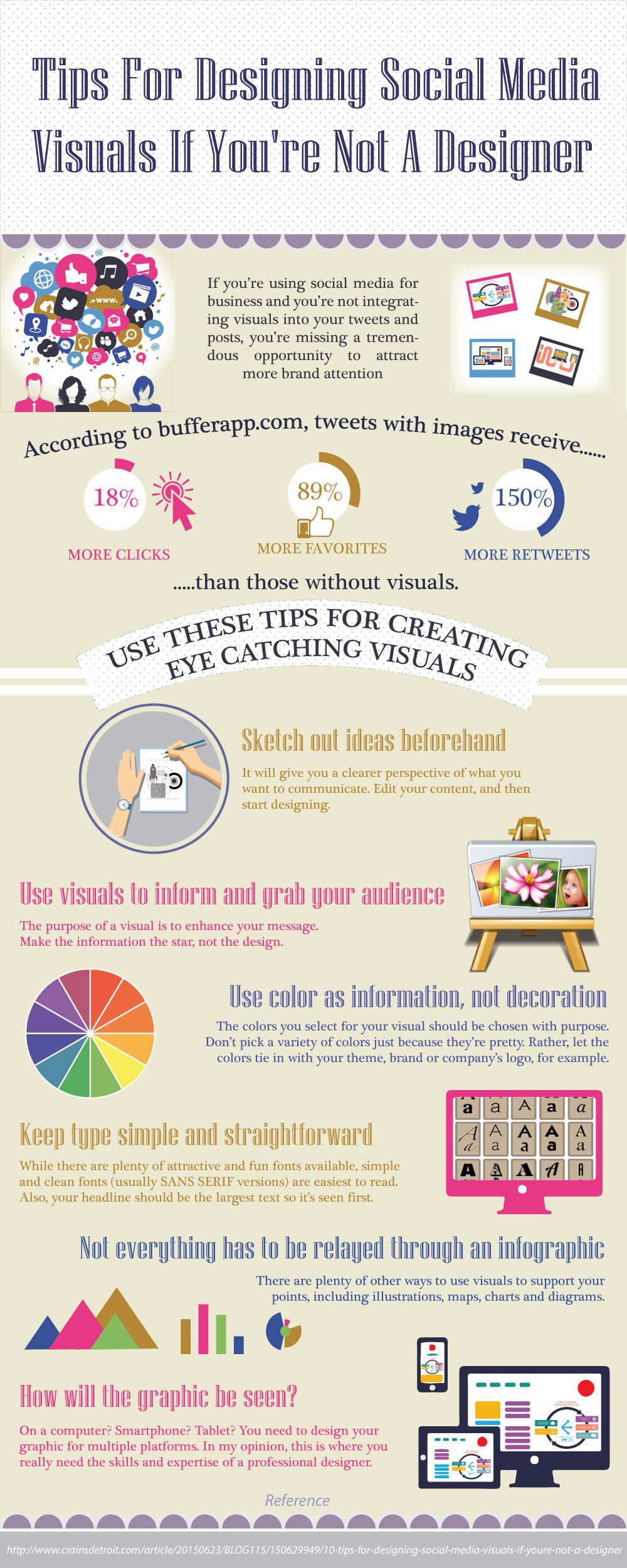 Tips For Designing Social Media Visuals If You Re Not A Designer Prologic Web Design Blog