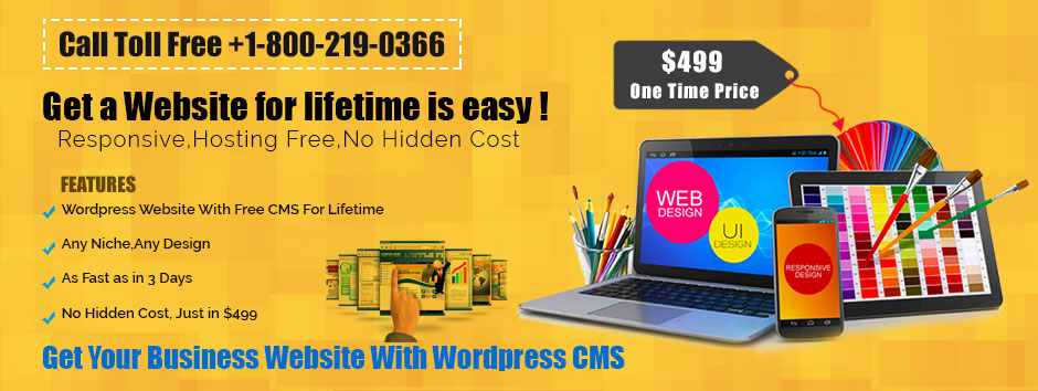 Web Design at $499